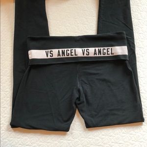 Victoria's Secret VS Angel black leggings size M